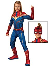 Captain Marvel Hero Costume Suit, Small