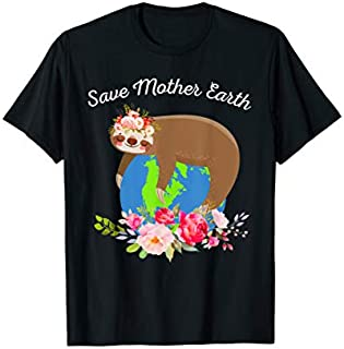 Save Mother Earth , Save Mother Earth T-shirt | Size S - 5XL