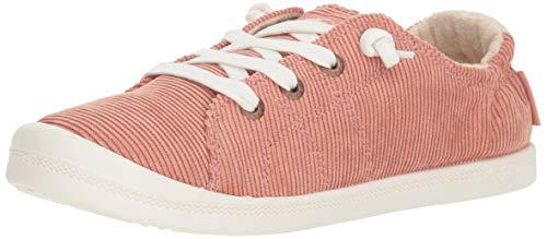 Roxy Women's Bayshore Slip on Shoe Sneaker, Rust, 6