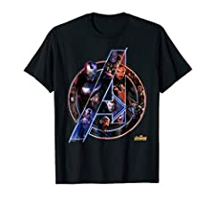 Team up and suit up to take on Thanos in our selection of Officially Licensed Avengers: Infinity War tee shirts, sweatshirts, and hoodies.