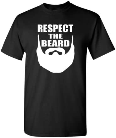 City Shirts Respect Beard T Shirt product image