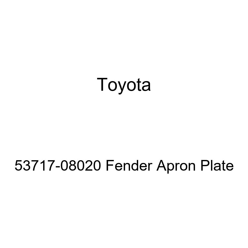 Genuine Toyota 53717-08020 Fender Apron Plate