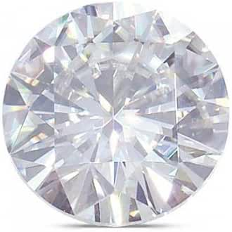 Round Moissanite by Charles and Colvard® Loose Stone, Very Good Cut