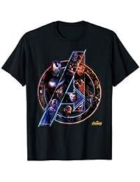 b8ec487bb Avengers Infinity War Neon Team Graphic T-Shirt