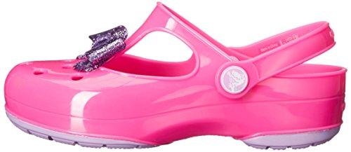 afb4887a1f9ef Crocs Carlie Glitter Bow Mary Jane Carlie Glittle Clog (Toddler Little Kid)  - Buy Online in UAE.