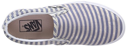 On Multicolore Slip Vans Chaussures Classic navy stripes wqxPgZCP
