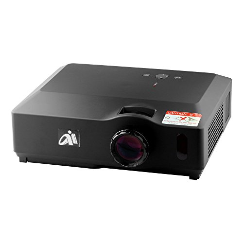 Hd Projector Full Color 720p 2400 Lumens Digital Tv Single: Free Shipping FastFox PRW300 1280x800 LED LCD 2800 Lumen