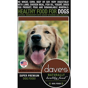 Dave'S Pet Food Natural Health Dog Food, 4 Lb