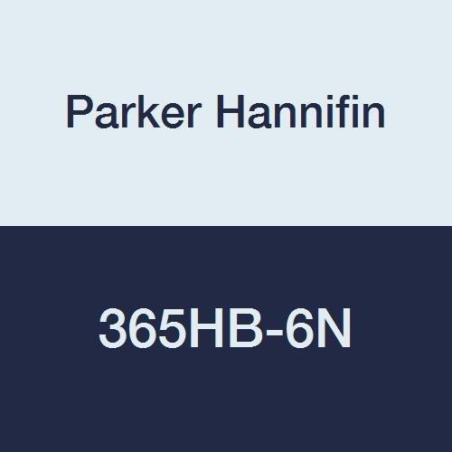 (Parker Hannifin 365HB-6N Par-Barb Nylon Union Elbow Fitting, 90 Degree Angle, 3/8