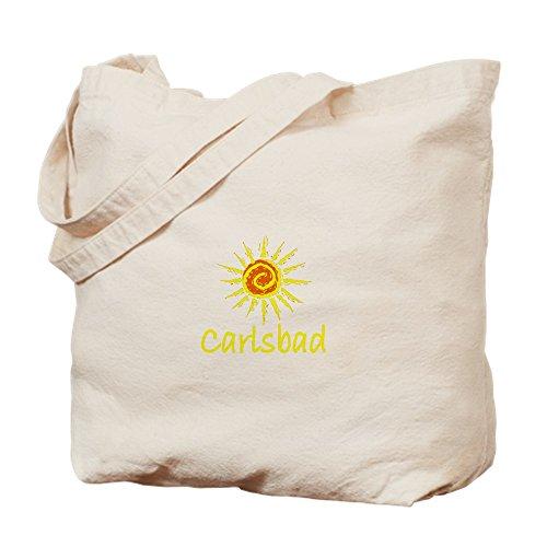 CafePress - Carlsbad, California - Natural Canvas Tote Bag, Cloth Shopping - Shopping Carlsbad