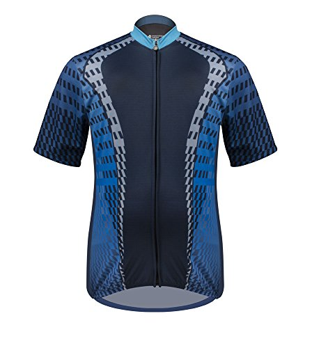 Big Man's Power Tread Cycling Jersey - Made in USA -