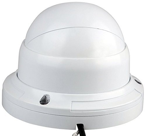 Foscam FI9853EP Outdoor Weatherproof P2P IP Security Camera with 65ft Night Vision, Motion Detection Alert, Power over Ethernet, Free Cloud Service Included