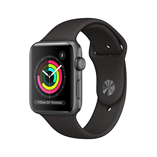 AppleWatch Series3 (GPS, 42mm) - Space Gray Aluminum Case...