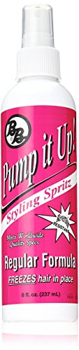 (Bronner Brothers Pump It Up Styling Spritz, 8 Ounce)