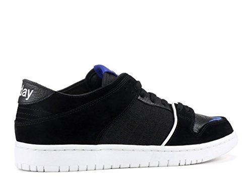 Nike Hommes Sb Zoom Dunk Faible Pro Qs, Noir / Jeu Royal-blanc Noir, Jeu Royal-blanc