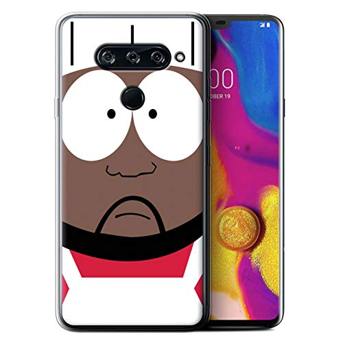 eSwish Gel TPU Phone Case/Cover for LG V40 ThinQ/Chef Design/Funny South Park Inspired Collection (South Park The Stick Of Truth Chef)