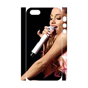 C-EUR Cell phone Protection Cover 3D Case Ariana Grande For Iphone 5,5S