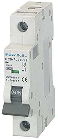Type C, 6A Distribution Board Electrical Box Fuse Circuit Breaker