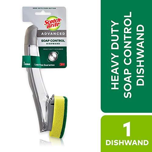 - Scotch-Brite Advanced Soap Control Dishwand, Heavy Duty