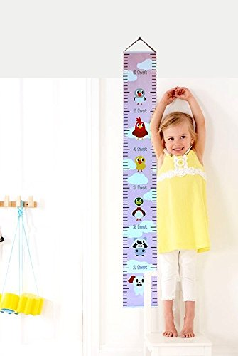 Personalized Growth Chart - Personalized Growth Chart by FashionExcluSiva - Unique & Creative Design Wall Decal Height Chart for Girls, Boys & Baby - Great Way to Measure Growth with Height of Your Kids