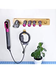 FLE Wall Mount Storage Holder Rack for Dyson Airwrap Styler Accessories, Metal Organizor Rack for Airwrap Styler and Attachments