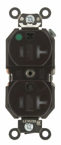 Leviton 8300 SG Receptacle Resistant Grounding