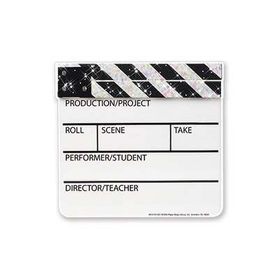 Eureka Sparkle Paper Cut-Outs 36 Hollywood Clapboards, Health Care Stuffs