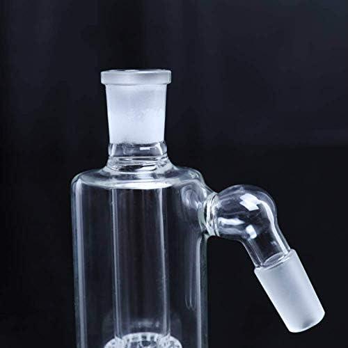 DevilQin 5 Tall 45 Degree Clear Percolator Glass Accessories Artcraft