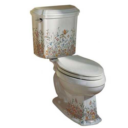 Review: Kohler English Trellis Portrait Toilet - Rate My Toilet