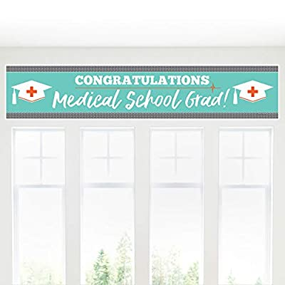 Big Dot of Happiness Medical School Grad - Doctor Graduation Party Decorations Party Banner: Toys & Games