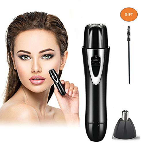 Rechargeable Facial Hair Removal for Women - 2019 USB Rechargeable Waterproof Hair Remover Nose Trimmer for Face, Armpit, Chin and Full Body, Best Gift for Women