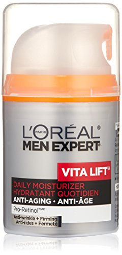 L'Oreal Paris Men Expert Vita Lift Anti-Wrinkle + Firming Daily Facial Moisturer, 1.6 Fluid Ounce