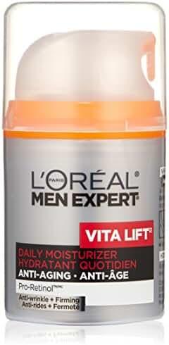 L'Oreal Paris Men Expert Vita Lift Anti-Wrinkle + Firming Daily Facial Moisturer, 1.6 Fluid Ounce