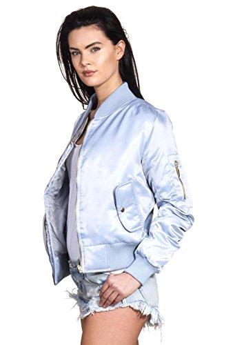 Femme Loomiloo Loomiloo Bleu Babyblau Blouson Blouson 5q7OUytz