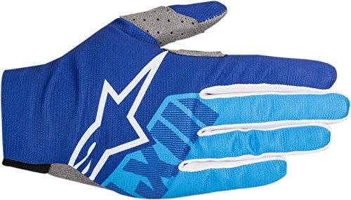 Alpinestars Unisex Adult Gloves Blue//Black Lg 3330-4873