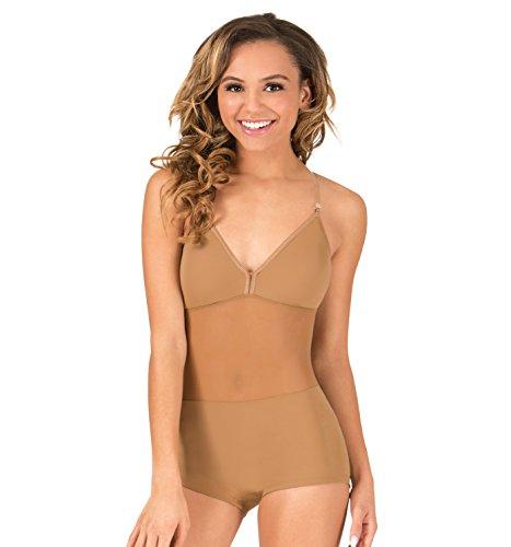 Camisole Unitard (Adult Camisole Shorty Unitard Undergarment,296NUDM,Nude,Medium)