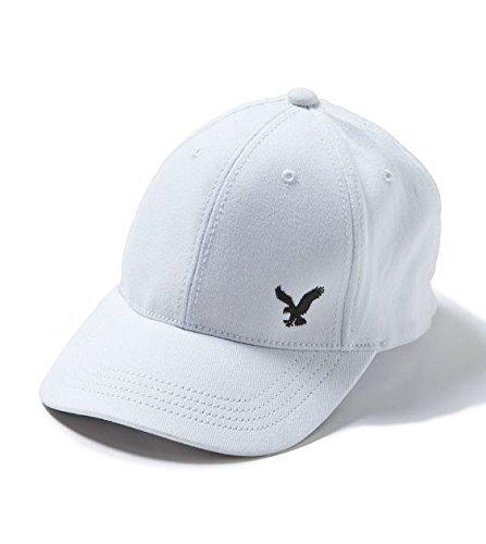 647352e0eb50a American Eagle Outfitters White w  Small Black Eagle Logo Baseball Cap S M  - Buy Online in UAE.