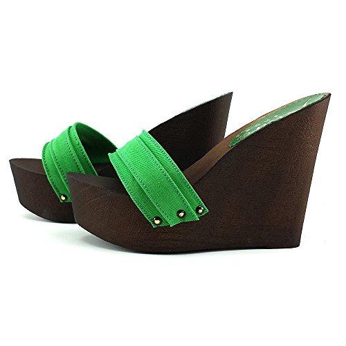 Zapatillas Verde Kz3101 Sandalias Mujer kiara xxqa7P