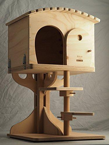 Novedad Blitzen, ROBINSON XL, bellísima caseta y el tronco del árbol para gatos,