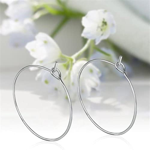 100 SP Wine Glass Charm Rings Earring Hoops Wedding Party Favours