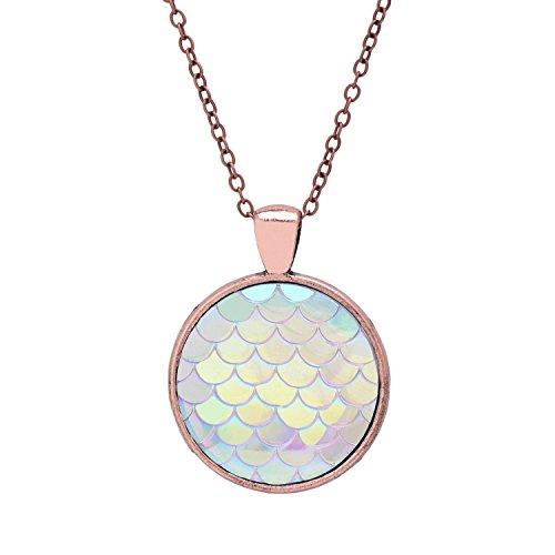 Mermaid Necklace Sea maid Pendant Jewelry product image