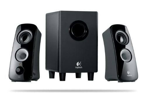 Computer Speakers-Logitech 2.1 Speaker System Z323