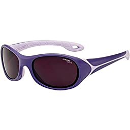 CEBE FLIPPER 3 TO 5 YRS KIDS SUNGLASSES (VIOLET WITH 1500 GREY BLUE LIGHT LENS)
