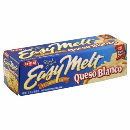 HEB Easy Melt Queso Blanco 32 Oz Loaf (Pack of 3)
