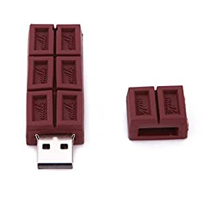 HDE 8GB Food Snack Dessert Shaped High Speed USB Flash Thumb Drive Memory Stick (Candy Bar)