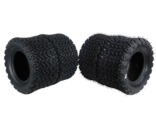 - MASSFX SL201010(x4) 4 PLY Golf Cart Turf Tires 20x10-10, Set of four (4) Tires