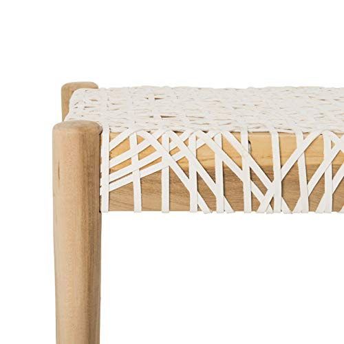 Safavieh BCH1000A Home Collection Bandelier Bench Off-White/Natural by Safavieh (Image #1)