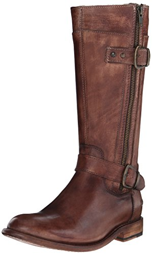 Image of Bed|Stu Women's Gogo Motorcycle Boot, Teak Driftwood, 7.5 M US