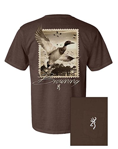 Browning Duck Stamp Pocket Tee (Large)