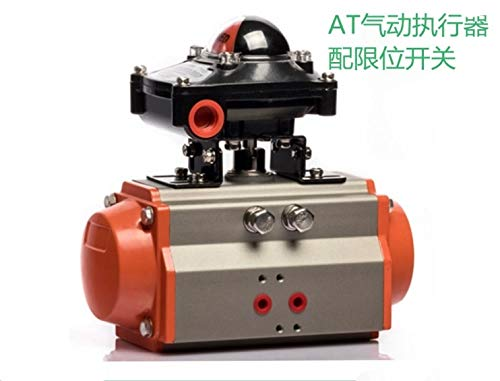 Fevas 88mm Double Acting Pneumatic Actuator with Limit - Pneumatic Acting Actuator Double